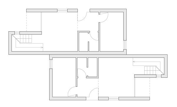 Studio di progettazione architettonica pisa progetti for Piano piano lotto stretto